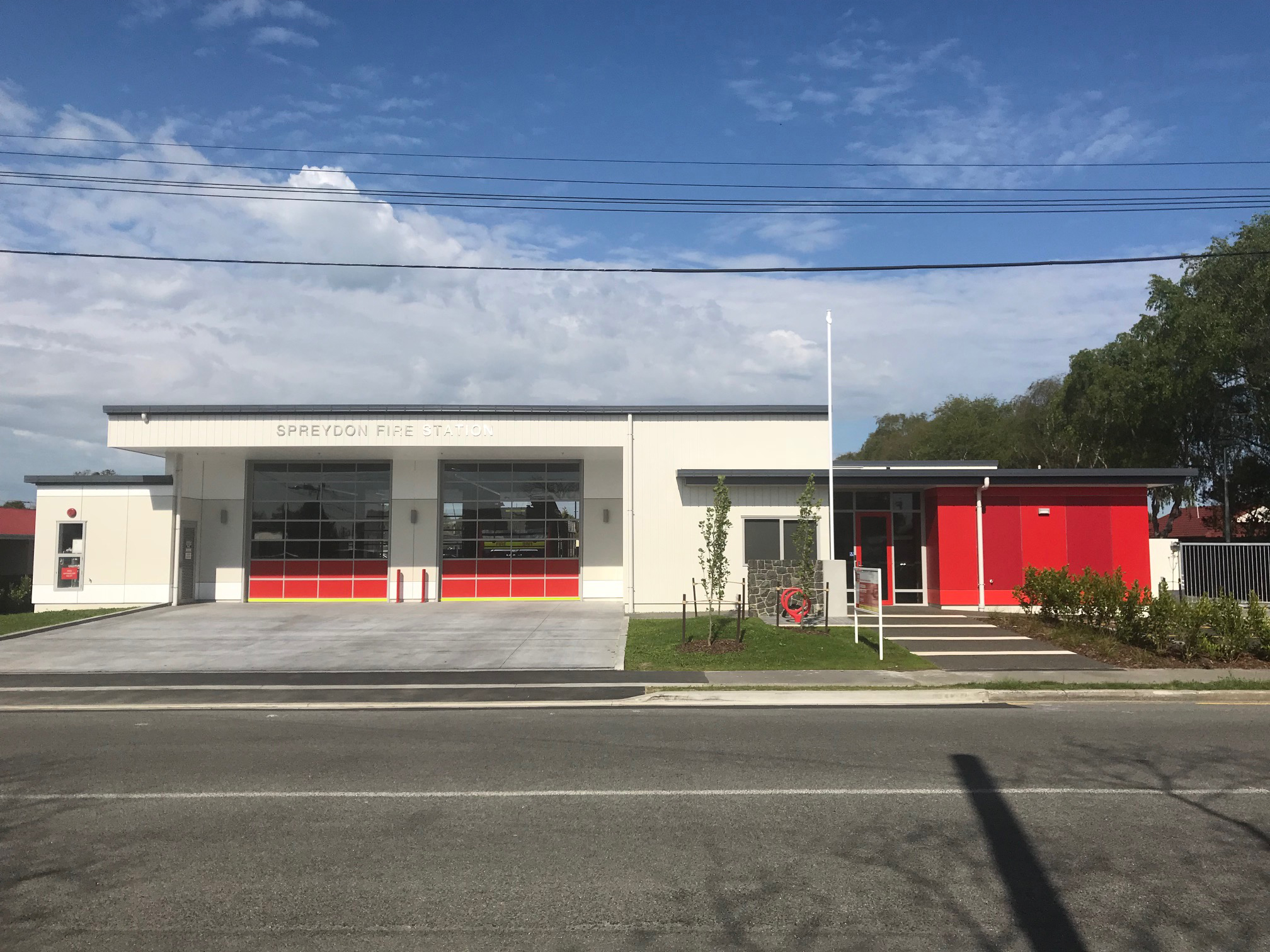 FENZ Spreydon Fire Station